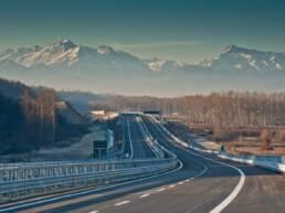 Foto autostrada Asti Cuneo